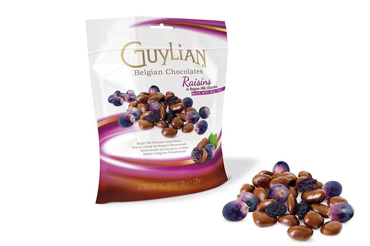Guylian Belgian Chocolate Raisins