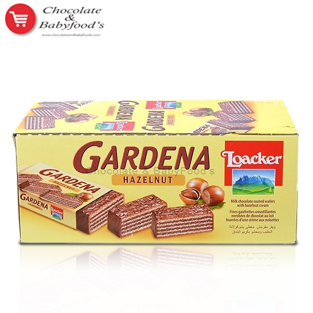 Loacker Gardena with Hazelnut