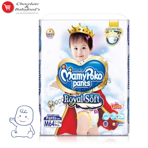 Mamy Poko Pants Royal Soft M-64 Girls