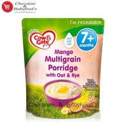 Cow & gate Mango Multigrain Porridge with Oat & Rye 200 gm