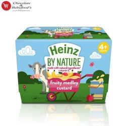 Heinz fruity medley custard From 4 to 36 mnth