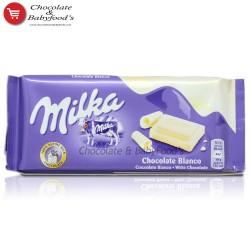 Milka Chocolate Blanco bar