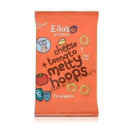 Ella's Kitchen Cheese + Tomato Melty Hoops