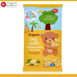 Asda Little Angels Organic Puffs Cheese & Herb Flavoured 10+ months