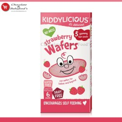 Kiddylicious Strawberry Wafers from 6+ months