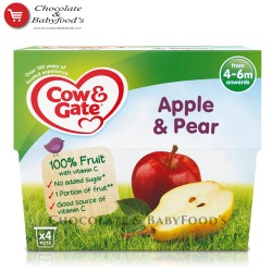 Cow & Gate apple & pear 4+mnth