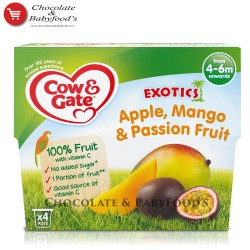 Cow & gate apple, mango & passion fruit 4-6mnth