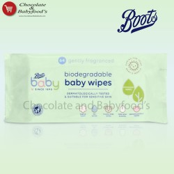 Boots Gently Fragrance biosegrable baby wipes 64pcs pack