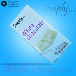 Simply White Chocolate 100gm