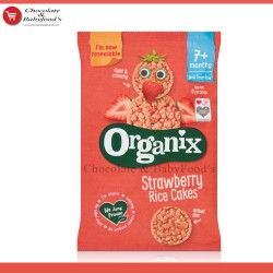 Organix Strawberry Rice Cakes 50gm