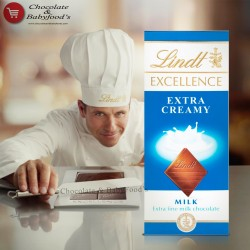 Lindt Extra Creamy Milk Chocolate Bar