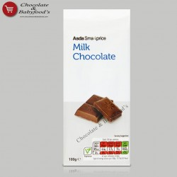 Asda Smart price Milk Chocolate Bar 100g