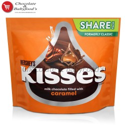 Hershey's Kisses Milk Chocolate with Caramel
