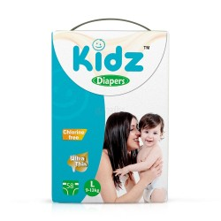 Kidz Diapers Tape - L 58 pcs