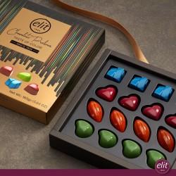 Elit Hearts Chocolate Praline Taste of Color