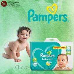 Pampers Jumbo pack Size- 3