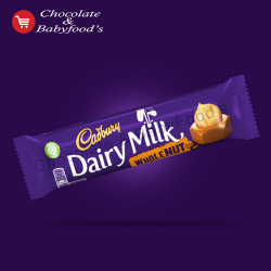 Cadbury Dairy milk Whole Nut 45 gm (Each)