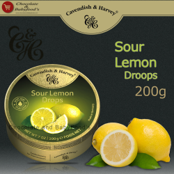 Cavendish & Harvey Sour Lemon drops 200g