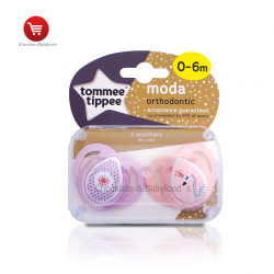 Tommee tippee moda orthodontic soother 0-6mnth