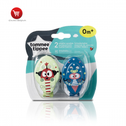 Tommee tippee soother holder 0month+