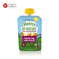 Heinz by Nature Hearty veg with Turkey (4 - 36 months)