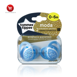 Tommee tippee moda orthodontic soothe 0 to 6 month