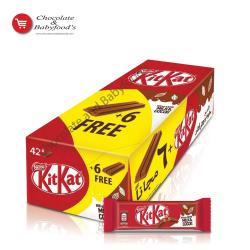 Kit kat 2 fingers milk & cocoa 42pc's pack