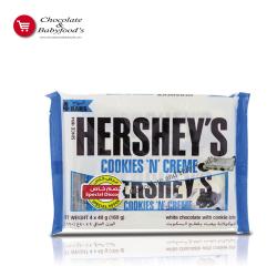 Hershey's Cookies N Creme 4 pc's pack