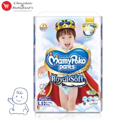 Mamy Poko Pants Royal Soft L- 52 Boys