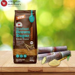 Vitalia ubrefined brown sugar from cane 900 gm