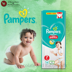 Pampers Nappy Pants Jumbo pack Size- 7