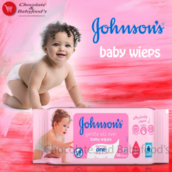 Johnson's gentle all over baby wipes 56pc's