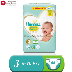 Pampers Jumbo pack Premium Protection Size- 3 (Diaper Belt)